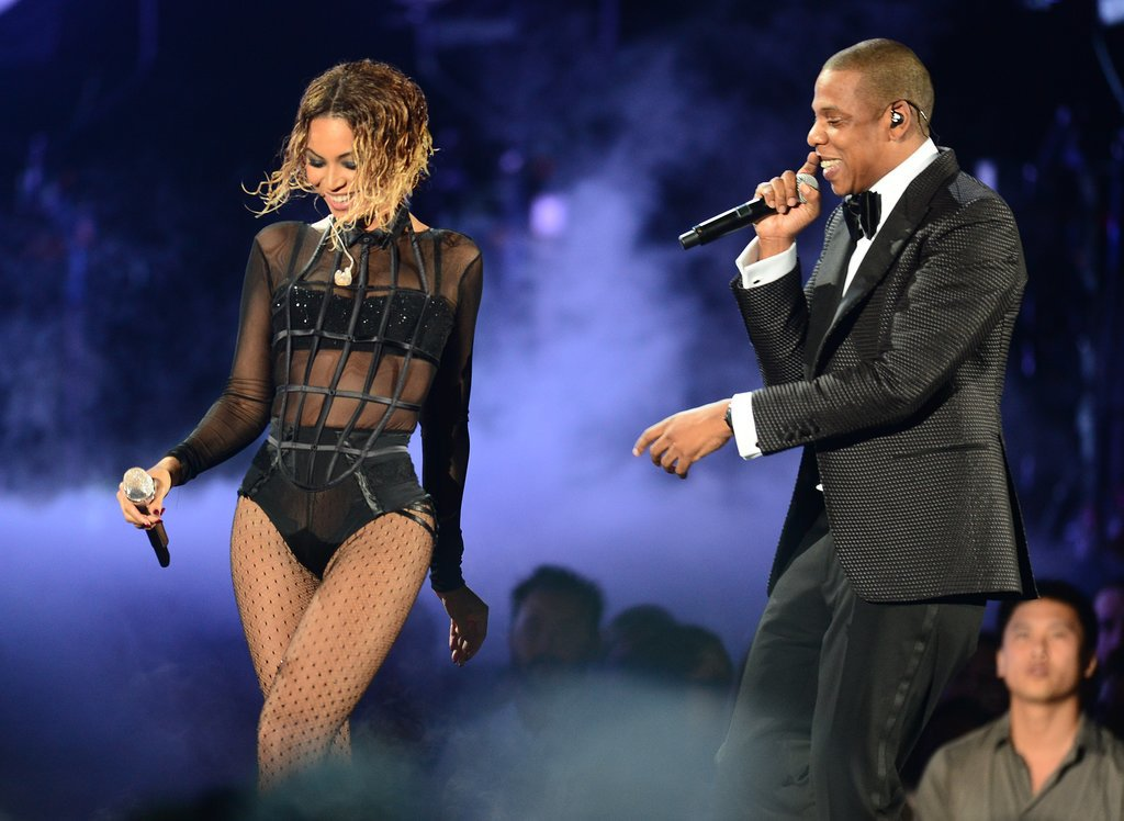 Beyonce and Jay-Z Grammys 2014
